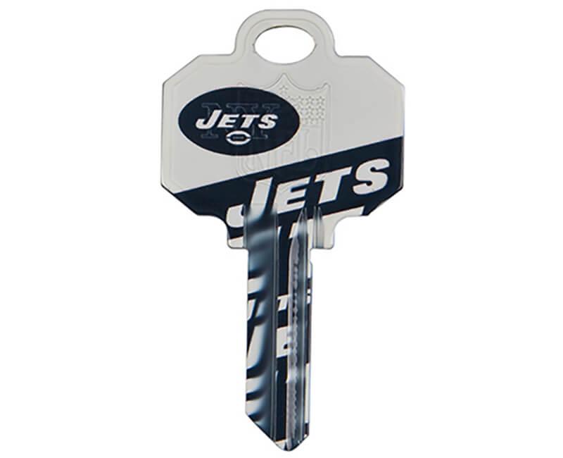 5 Pack KW1 Key Blanks - Jets Logo