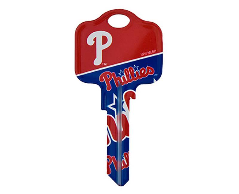 5 Pack KW1 Key Blanks - Phillies Logo