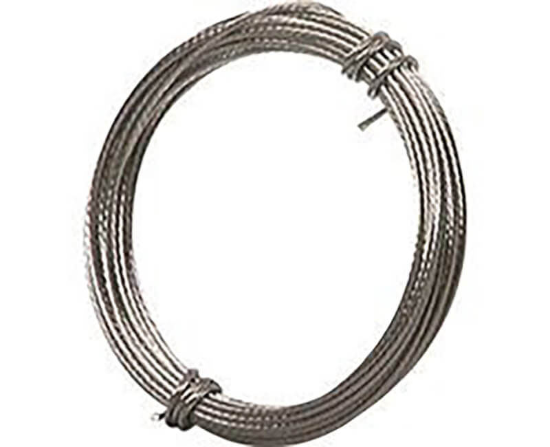 9' Braided Steel Wire - 5 LB