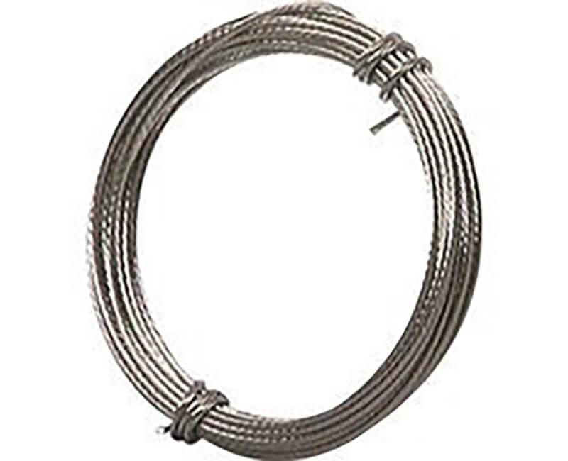 9' Braided Steel Wire - 5 LB