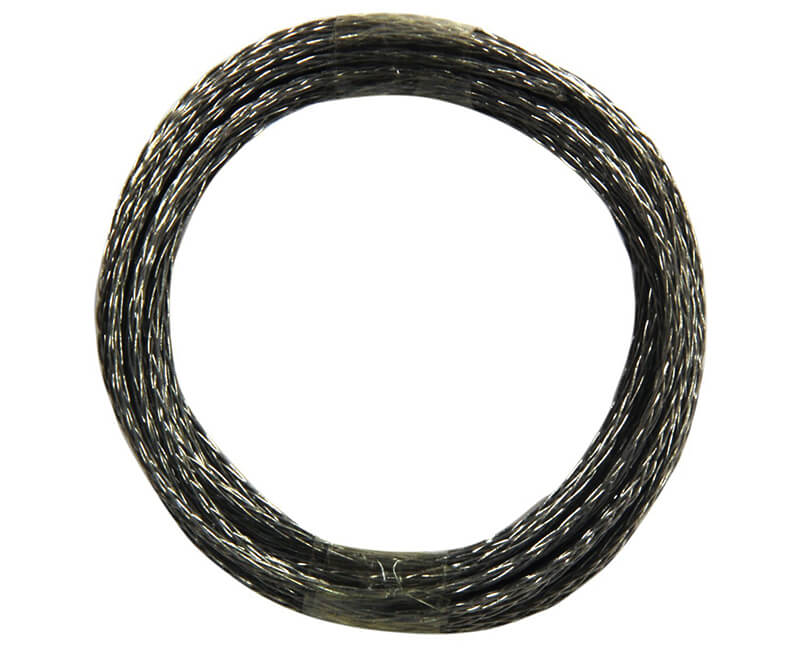 9' Braided Steel Wire - 10 LB