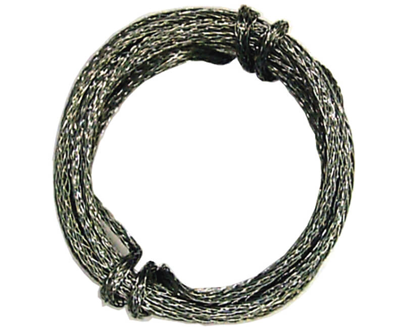 9' Braided Steel Wire - 30 LB