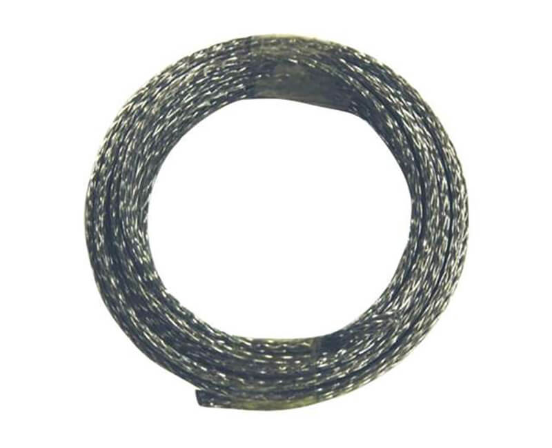 9' Braided Steel Wire - 50 LB