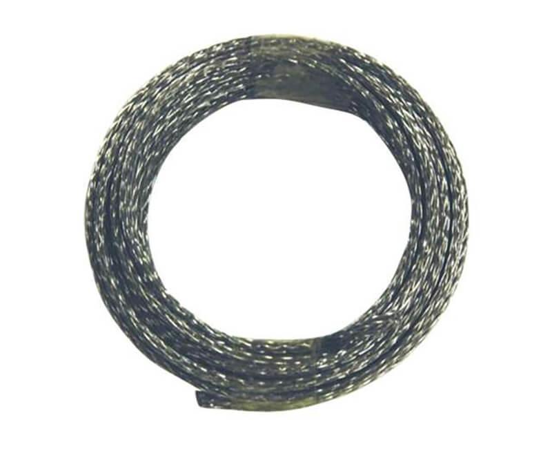 9' Braided Steel Wire - 50 LB