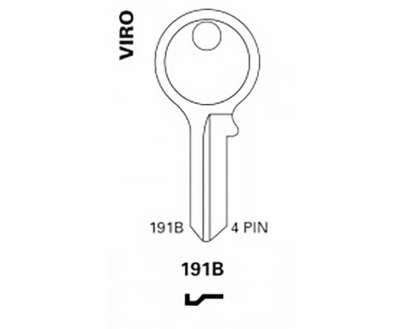 Key Blanks - Viro