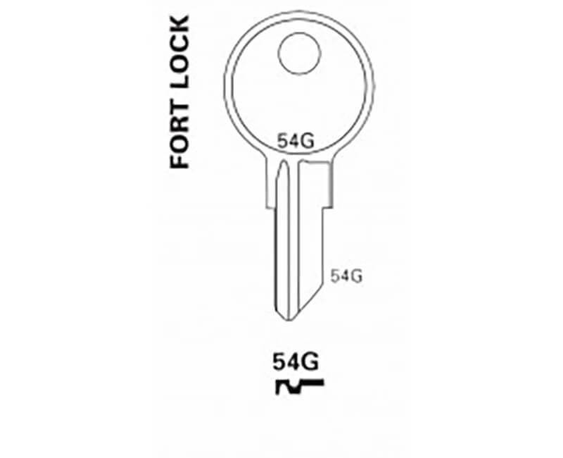Key Blanks - Fort Key Blank 5 Pin