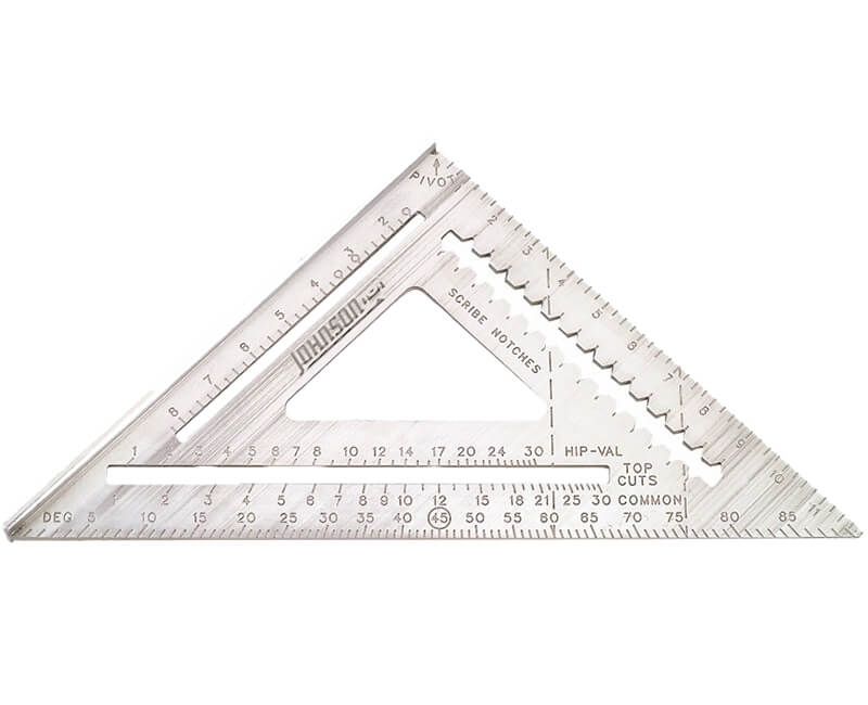 "12"" Contractor Aluminum Rafter Square"