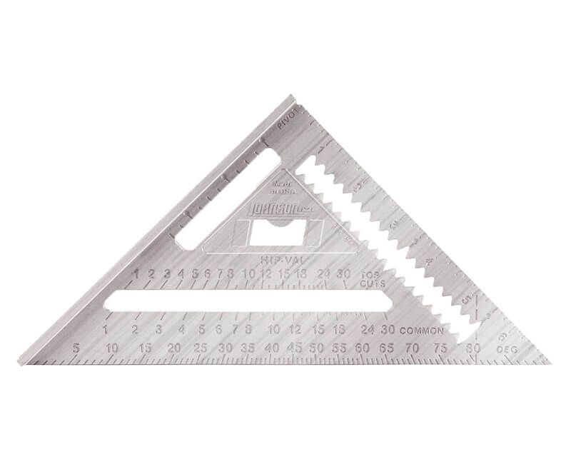 "7"" Aluminum Rafter Angle Square"