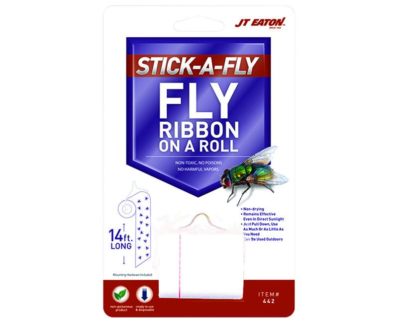 """4"""" Stick-A-Fly Fly Ribbon Rolls"""