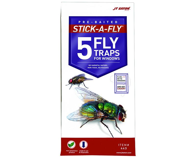 Stick-A-Fly Window Traps