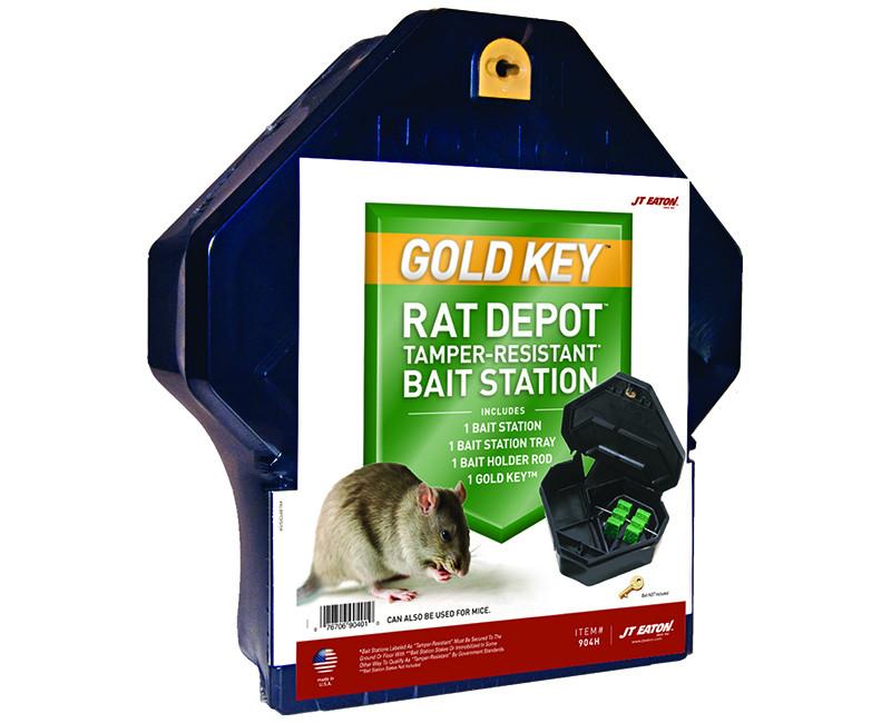 Gold Key Rat Depot - Tamper Resistant