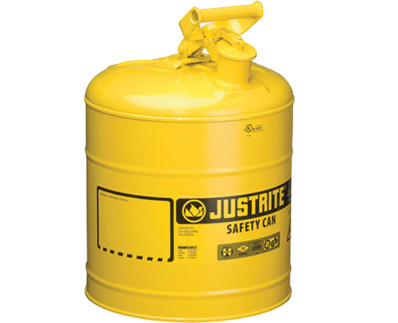 5 Gal. Metal Diesel Can - Type 1 Yellow