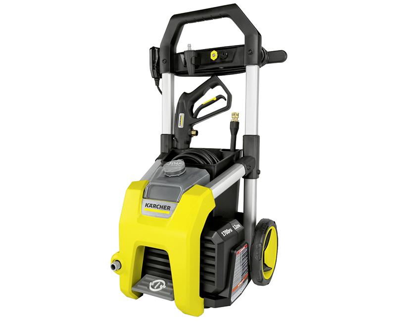1700 PSI Electric Pressure Washer W/Wheels