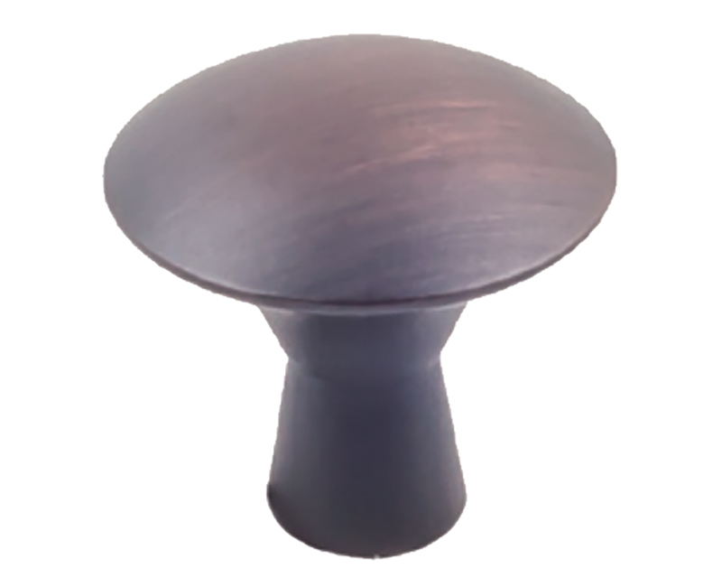 "1-1/16"" DIAMETER CABINET KNOB, OIL RUBBED BRONZE, 10-PACK"