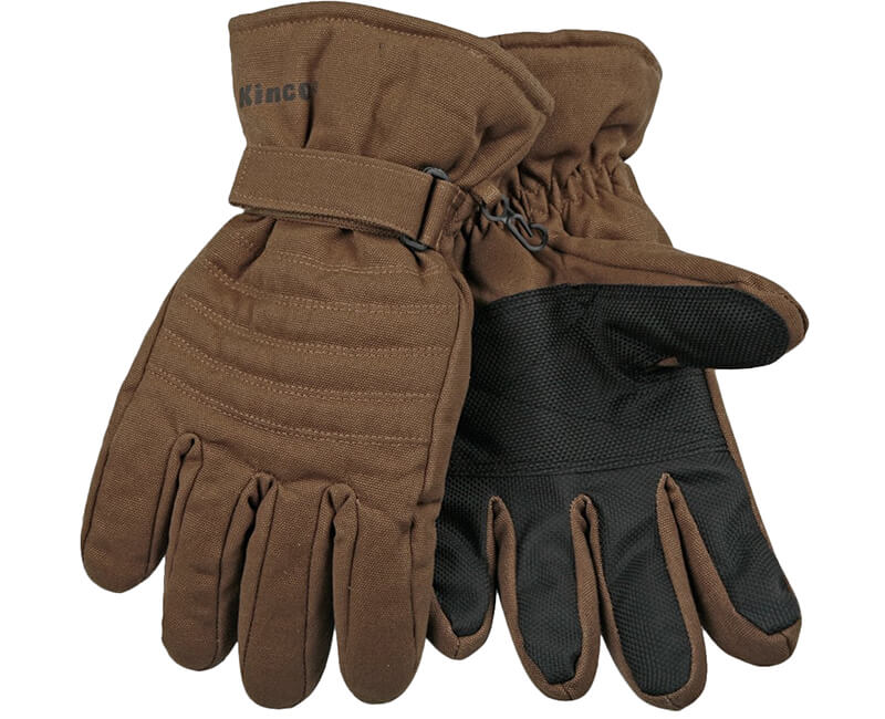 Heatkeep Brown Ski Glove - Large
