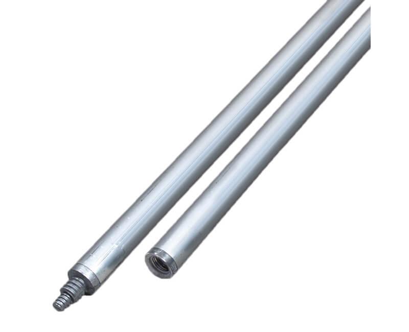 """1-3/4"""" X 6' Aluminum Threaded Handle"""