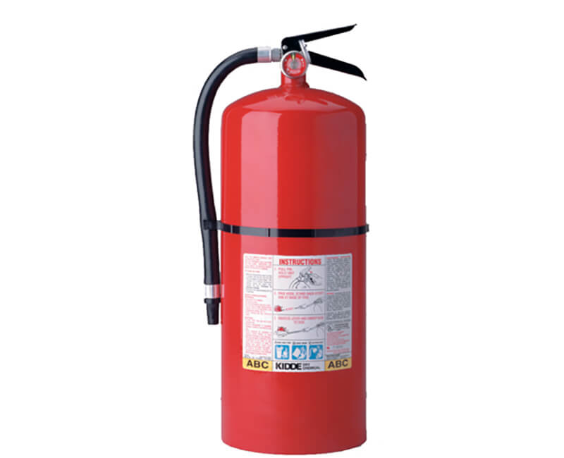 20 Lb. A-B-C Rated Fire Extinguisher - Rechargeable