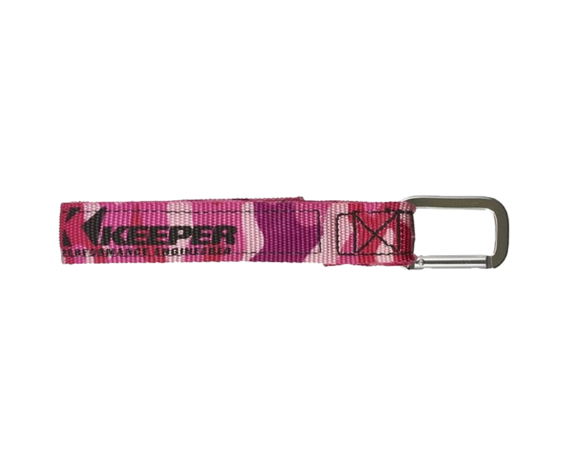 "20"" WRAP IT UP, HOOK & LOOP, CARABINER STRAP, PINK CAMO, BIN DISPLAY"