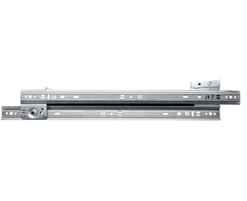 "18"" Side-Mount Drawer Slides - Zinc"