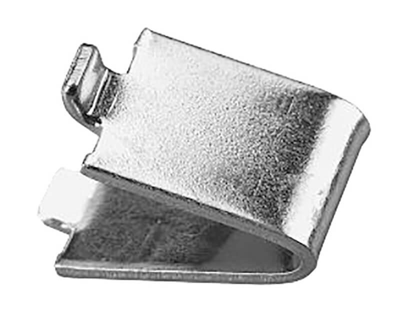 Bulk Pilaster Shelf Support Clips - Zinc