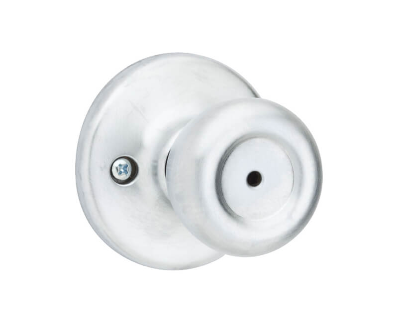Tylo Knob Bedroom Lockset - Clamshell 26D Adjustable Backset