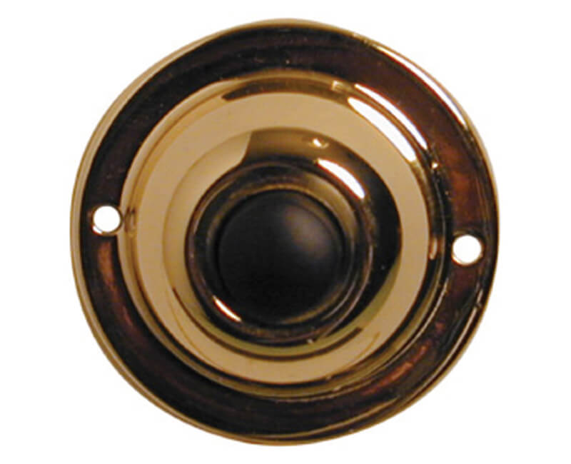 "1-3/4"" Round Push Button - Carded"