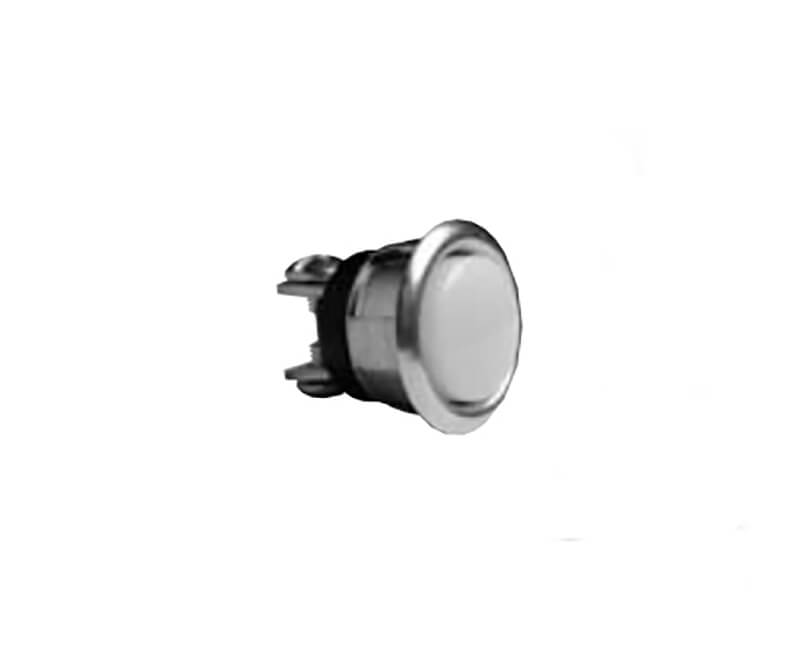 """5/8"""" Silver Insert Push Button - Carded"""