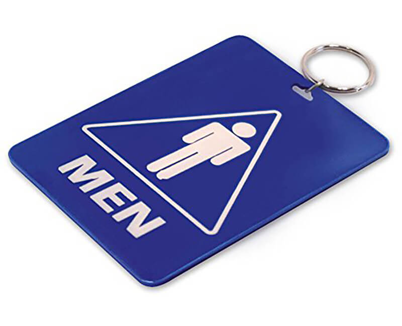 Restroom Key Tags With Ring - Momen 10 Per Pack