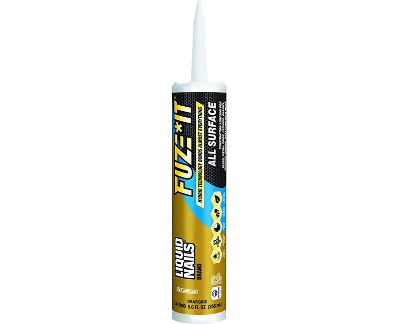 9 Oz. Liquid Nails Fuze-It Cartridge