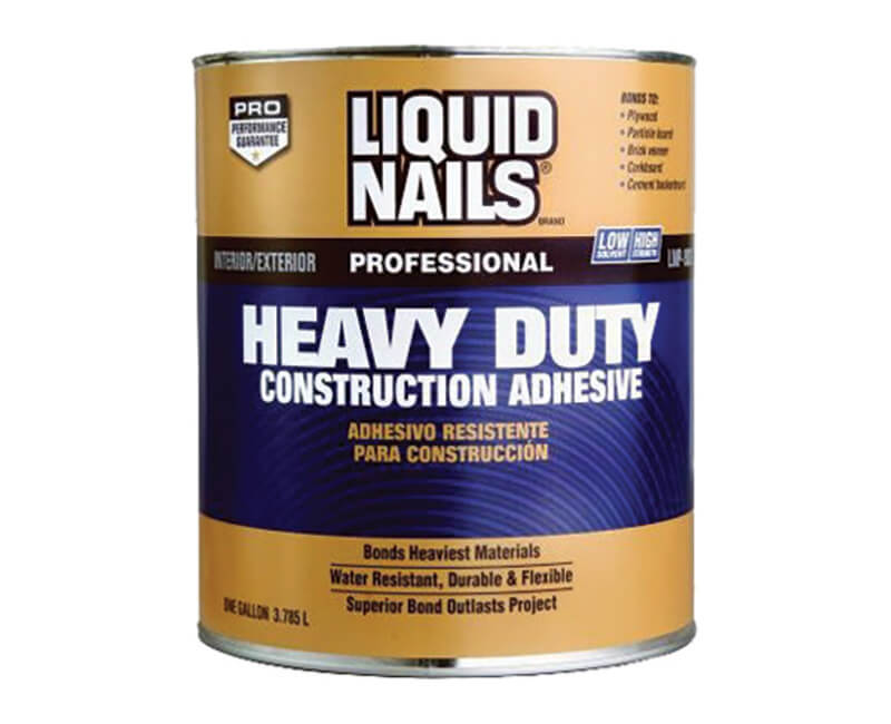 1 Gal. Professional Heavy Duty Construction Adhesive