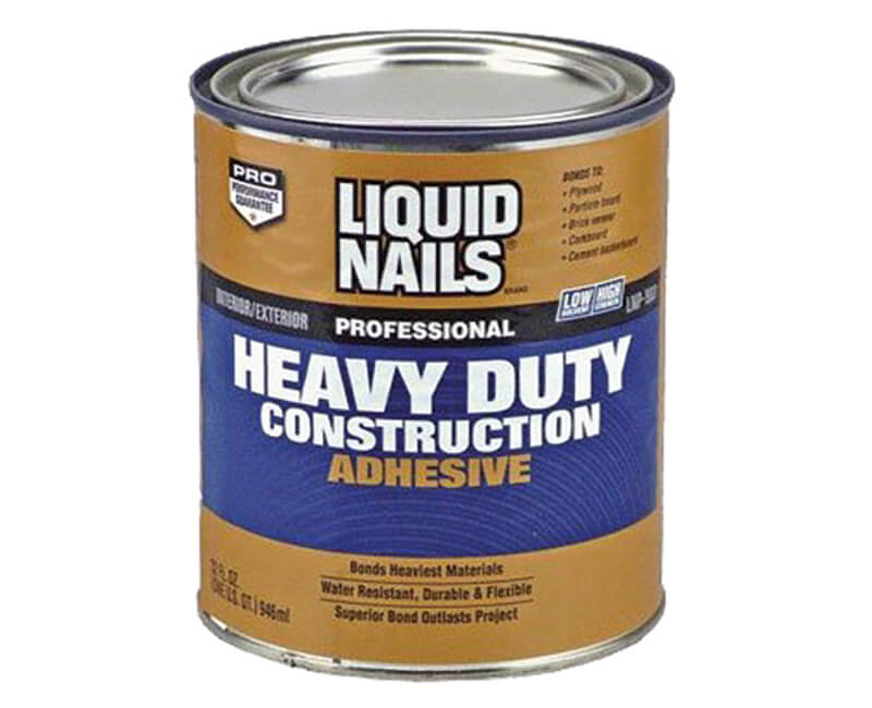 1 Qt. Professional Heavy Duty Construction Adhesive