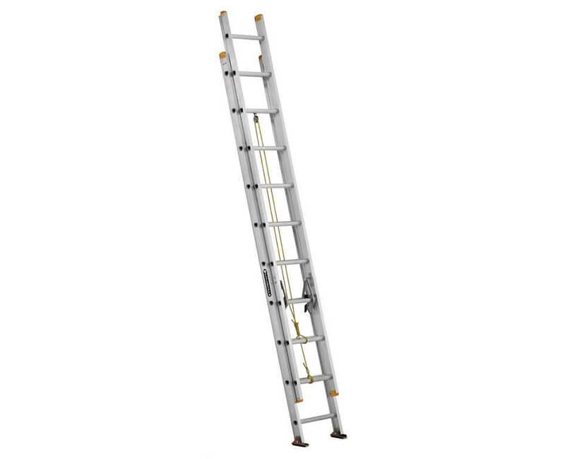 20' Aluminum Extension Ladder - 250 Lbs. Type 1