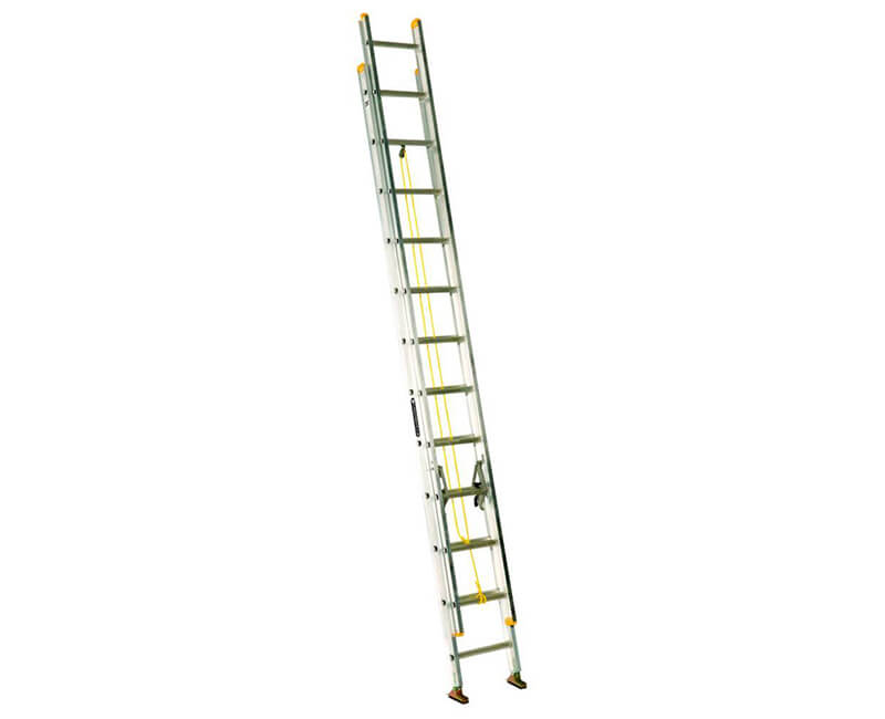 24' Aluminum Extension Ladder - 250 Lbs. Type 1