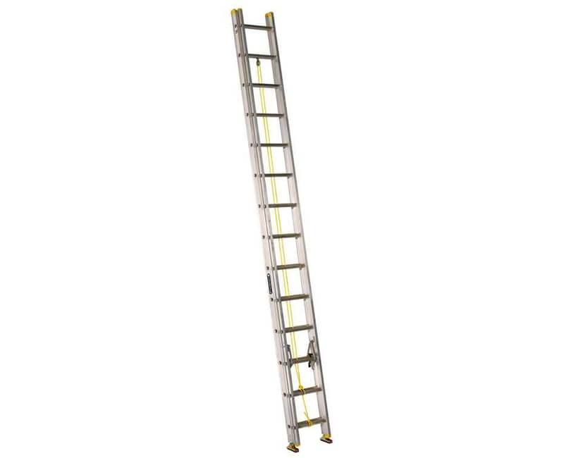 28' Aluminum Extension Ladder - 225 Lbs. Type 1
