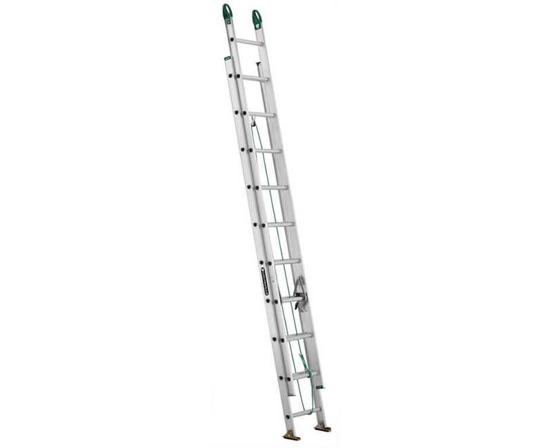 16' Aluminum Extension Ladder - 225 Lbs. Type 2