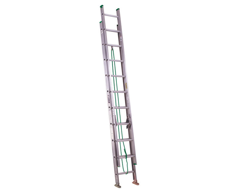 20' Aluminum Extension Ladder - 225 Lbs. Type 2