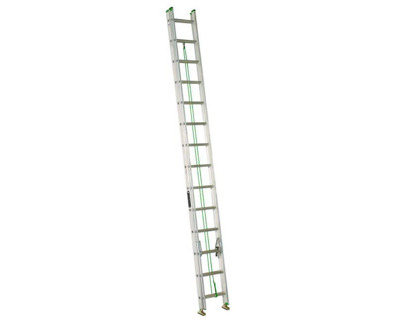 2 28' Aluminum Extension Ladder - 225 Lbs. Type 2