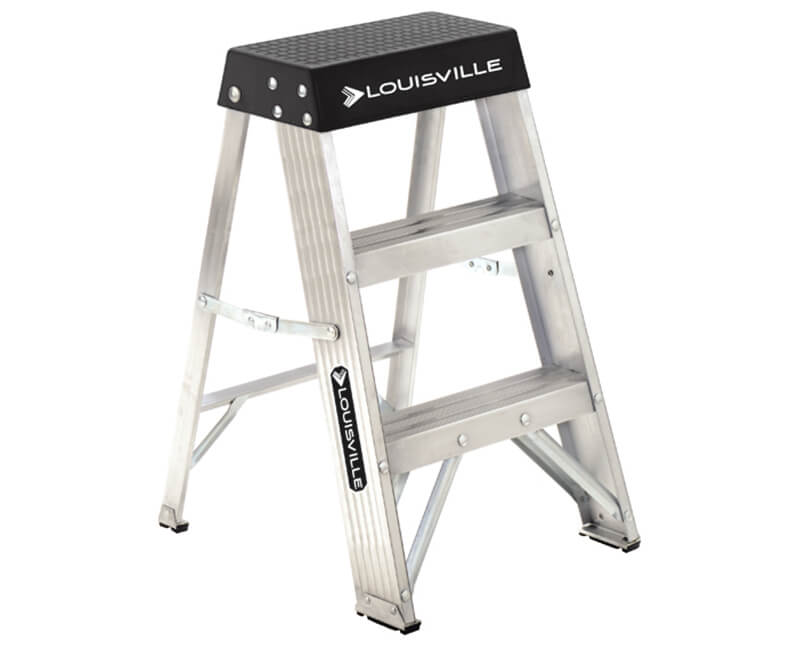 2' Aluminum Step Ladder - Type 1A