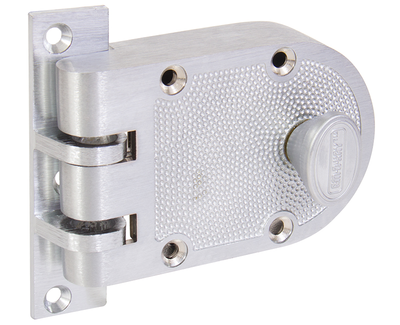 Single Cylinder Jimmyproof Deadlock - Dull Chrome