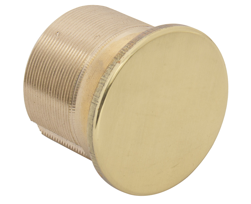 "15/16"" Solid Brass Dummy Mortise Cylinder - US3"
