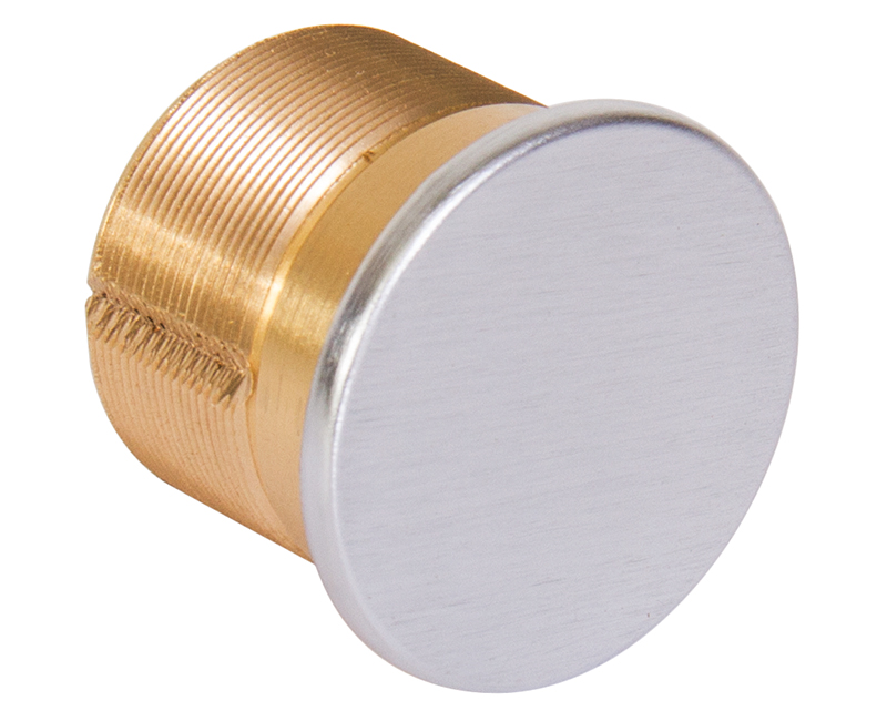 "15/16"" Solid Brass Dummy Mortise Cylinder - 26D"