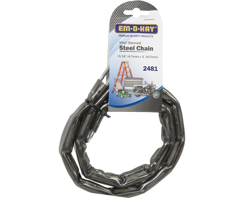 3' Vinyl Sleeved Steel Chain