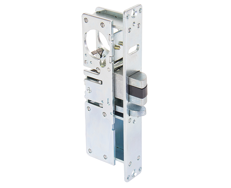 "Heavy Duty Deadlatch With 1-1/2"" Backset - Right Hand"