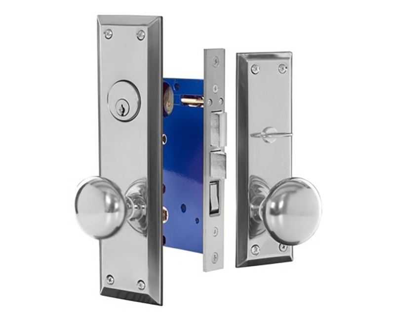 Standard Mortise Lockset - Left Hand 26D