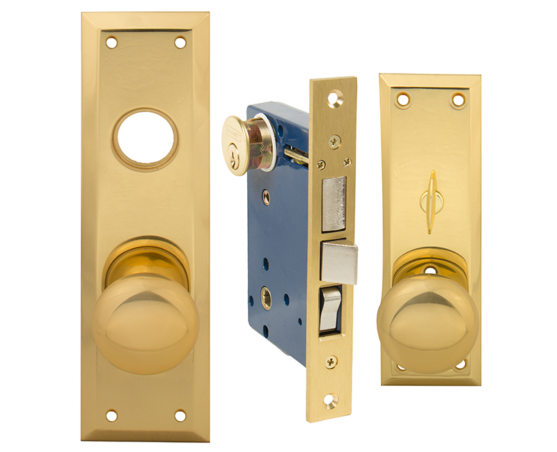 Standard Mortise Lockset - Left Hand US3