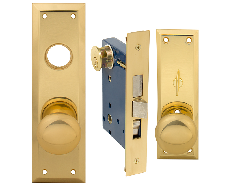 Face Plate For Left Hand Mortise Lockset