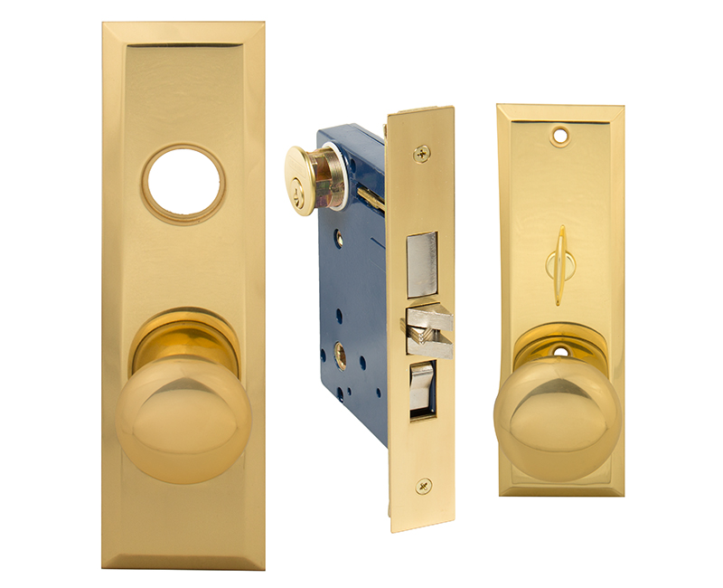 Apartment Mortise Lockset - Left Hand US3
