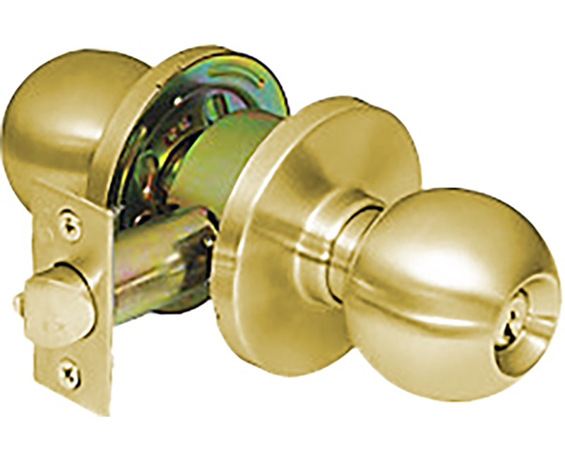 Grade 2 Ball Cylindrical Lockset - Storeroom - US3