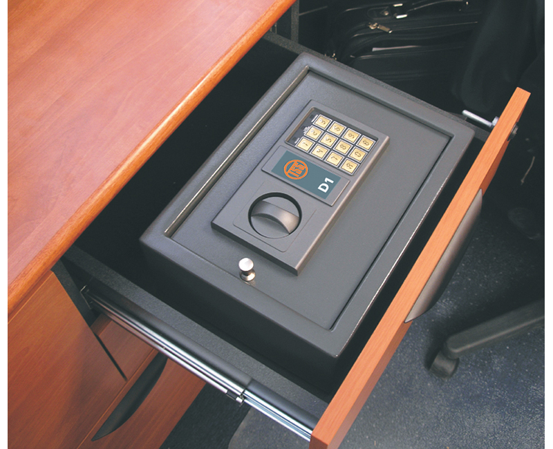 Draw Safe With Electronic Keypad