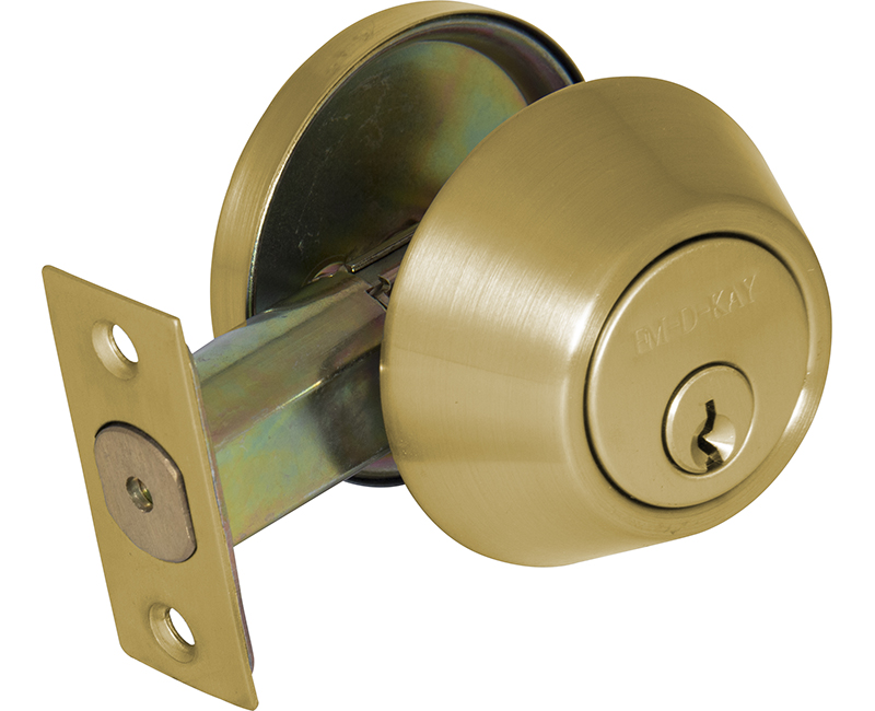 Commercial Grade Single Cylinder Deadbolt - US3